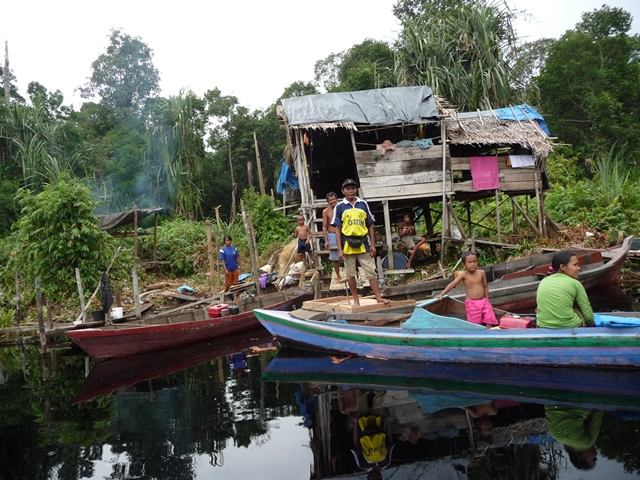 """Bagan"", Temporary Fishing House in Tasik Belat"